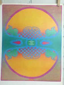 "Vtg Peter Max Poster 1970 MCM Mod 11""x16"" 1, 2, 3 Infinity"