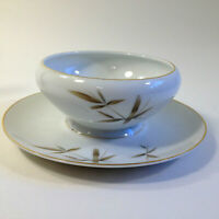 Vintage, Mikasa China,Tradewind Fare 8211, Gravy Boat w/Plate, Occupied Japan