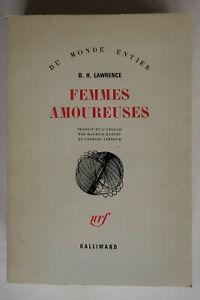 Femmes amoureuses - D.H. Lawrence - 1977 nrf Gallimard BE