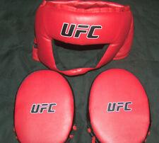 UFC Ultimate Combat Championnat Adulte Réglable Protection Tête Gear & Mitaines