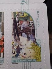 FRANCE 2010, TP AUTOADHESIF 399 MUSIQUE PIANO neuf**, MNH STICKER STAMP
