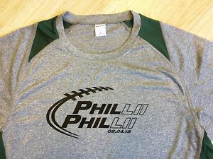 PHILADELPHIA FOOTBALL WORLD CHAMPIONS FOOTBALL PHILLII PHILLII T-SHIRT MEN/WOMEN