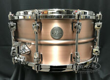 Tama Snare Drum Starphonic 7x14 Copper 1.2mm Shell in Satin Brushed Finish