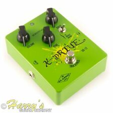 Biyang SERIE CLASSIC od-12 X-Drive | OVERDRIVE EFFETTO PEDALE | TS Clone