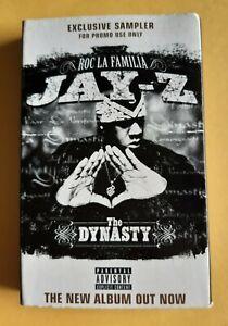 Jay Z, The Dynasty Promotional Cassette Tape. Album Snippets Ultra Rare.