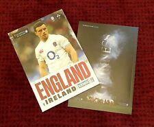 England v Ireland Rugby Six Nations @ Twichenham Programme 23rd February 2020!