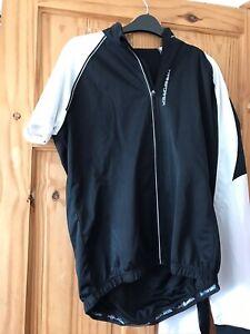 Pearl Izumi Elite Barrier Convertible Jacket Gilet Cycling Black White Medium