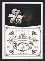 2010 Playoff National Treasures Football 179 Gary Collins 93/99 Cleveland Browns