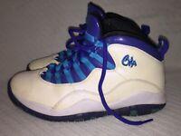 Men Size 8 Nike Air Jordan Retro 10 Charlotte Hornets Basketball Shoe 310805-107