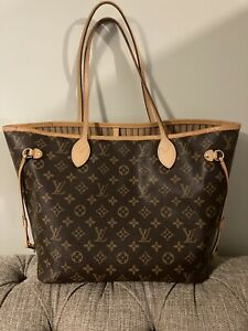 Louis Vuitton Neverfull MM Mono Tote Handbag