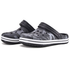 Men Boys Garden Clogs Camouflage Water Shoes Kids Sandals Summer Beach Slippers