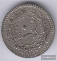 Türkei KM-Nr. : 760 1327 /3 sehr schön Nickel 1327 10 Para Tughra Reshat