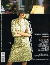 Italian COLLEZIONI Pret-a-Porter Magazine #91 Spring/Summer 2003 @Good