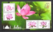 Sierra Leone 2011 flores lotus hoja nueva 1er elección