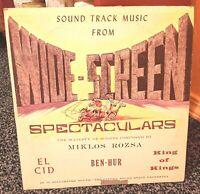 Sound Track Music From Wide-Screen Spectaculars VINYL LP_EL CID / BEN HUR
