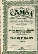 CAMSA ANVERS   2