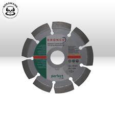 DRONCO LITRE 46 disque de coupe Diamant 115 x 22,23 pour béton Narturstein Tuile
