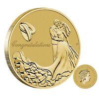 Australia 2016 Wedding $1 One Dollar UNC Coin Perth Mint Carded