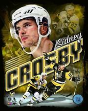 """2017 SIDNEY CROSBY """"Pittsburgh Penguins"""" LICENSED un-signed poster 8x10 photo"""