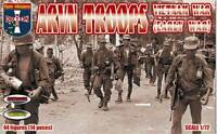 ARVN Troops, Vietnam War (early war). 44 figures (14 poses) 1/72 Orion 72051