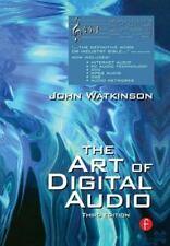 Art of Digital Audio by John Watkinson (2000, Hardcover, Revised)
