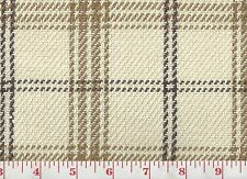 Linen Cotton Ivory Plaid Upholstery Fabric Clarence House Judd Check Cl Neutral