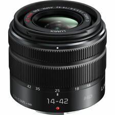 New Panasonic Lumix G Vario 14-42mm f/3.5-5.6 II ASPH. MEGA O.I.S. Lens - Black