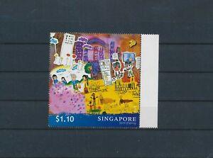 LO29598 Singapore spirit of giving edges MNH