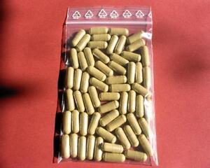 240 capsules 100% pure Caterpillar fungus CS-4 - certified powder of mycel