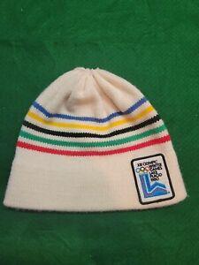 Vintage Winter Olympics ski hat - Lake Placid 1980