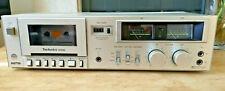 TECHNICS RS-M205 Stereo Cassette Player Recorder Vintage