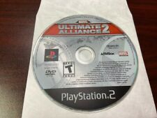 Marvel: Ultimate Alliance 2 (Sony PlayStation 2, 2009) PS2 - DISC ONLY