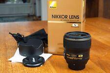 Nikon AF-S Nikkor 35mm f/1,4G mit OVP. - im neuwertigen Topzustand!