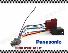 CONNETTORE ISO PANASONIC 16 pin per autoradio, adattatore installazione