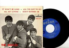 BEATLES EP PS It Won't Be Long Spain Only ULTRA RARE DSOE 16.577 Spanish cover