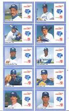 1991 Syracuse Chiefs Merchants Bank Derek Bell Tampa Florida FL Baseball Card