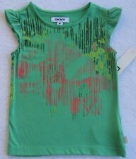NWT DKNY Girls Pale Green Top(Size 2T) MSRP$22.00  NEW