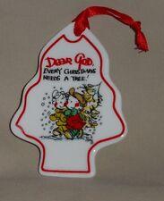 DEAR GOD Christmas Tree Shaped ORNAMENT Every Christmas Needs a Tree 2008 Series