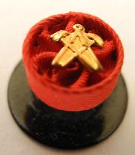 ROSETTE OFFICIER COMPAS MARTEAU 10 mm NEUF
