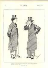 1894 CECIL ALDIN Simon il cellarer completamente Ubriaco Monk Cartoon terribilmente BATTUTA