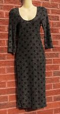 Black, Silver & Red Stretch Dress, Atmosphere, Size 8, BNWOT