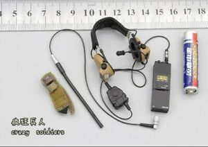Radio & Headset for EASY&SIMPLE ES 26043A Maritime Raid Force VBSS 1/6 Scale