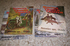Hunter Trader Trapper vintage magazines 4 each 1920s.