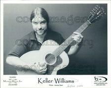 Singer Songwriter Keller Williams Plays Guild 12 String Guitar Press Photo