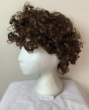 Clown Wig, Afro, Synthetic, Fancy Dress, brown, Curly (wig 60)