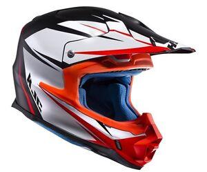 Casco Helm Casque Helmet HJC FX-CROSS AXIS BIANCO L