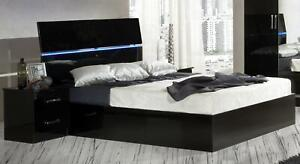 Design Nacht Tisch Konsole Glanz Tische Konsolen Schlaf Zimmer Beistell Holz Neu
