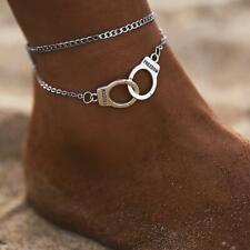 Women Handcuffs Anklet Leg Bracelet In Summer Beach Women Fashion Jewelry LC