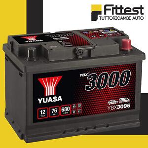 Batteria Yuasa 76 AH 12 V 680 A 278 x 175 x 190 mm Positiva Destra = 74AH