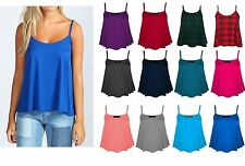 Unbranded Women's Sleeveless Strappy, Spaghetti Strap Stretch Tops & Shirts